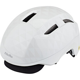 Electra Go! MIPS Helm white triangles
